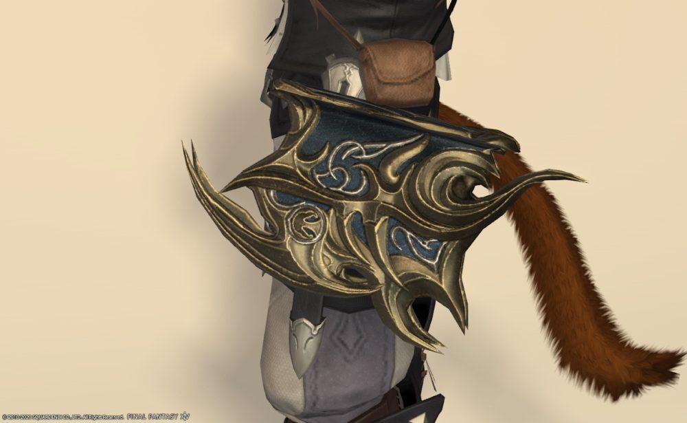ウォーリアオブライト召喚武器納刀