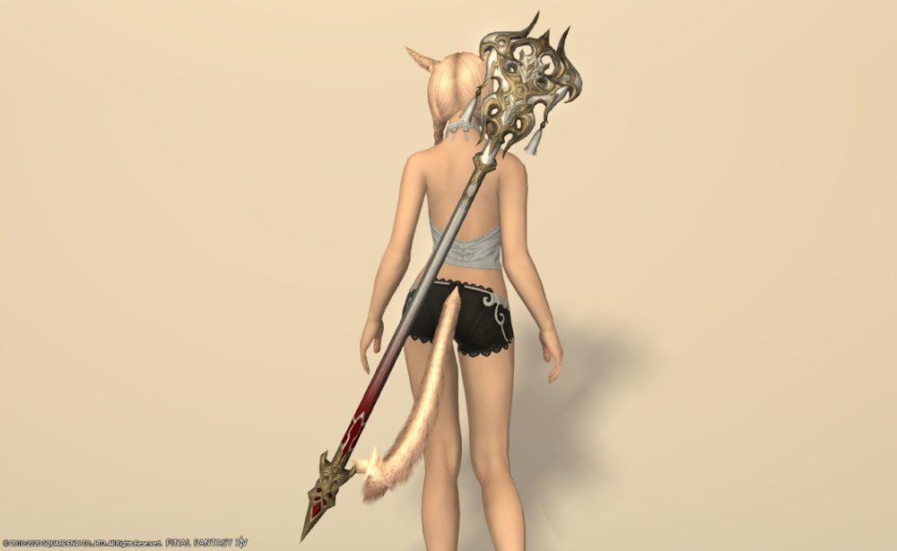 ウォーリアオブライト白魔道士武器納刀