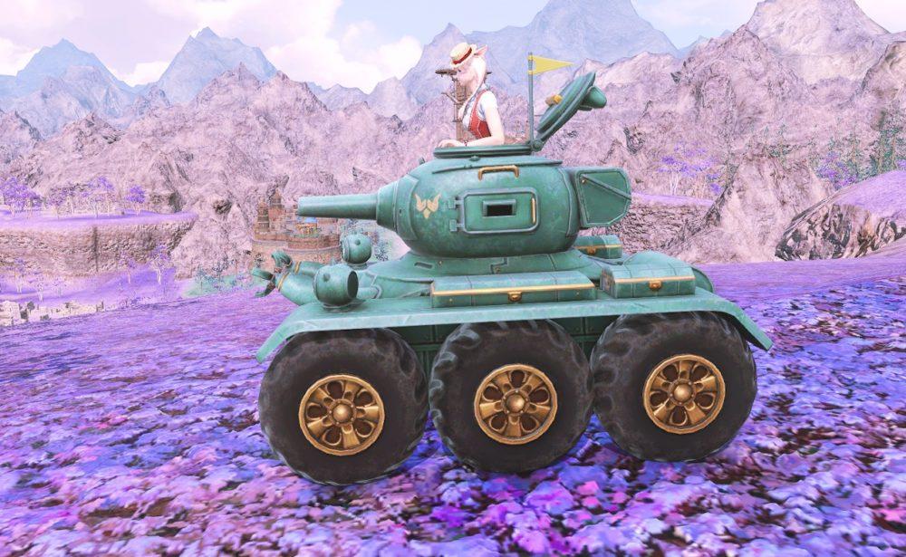 ドワーフ戦車サイド