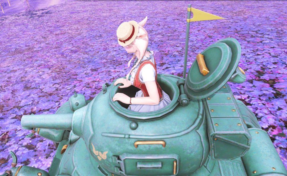 ドワーフ戦車搭乗口