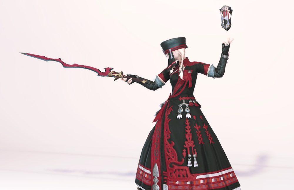 ノマドキャスター赤魔道士武器合わせ抜刀