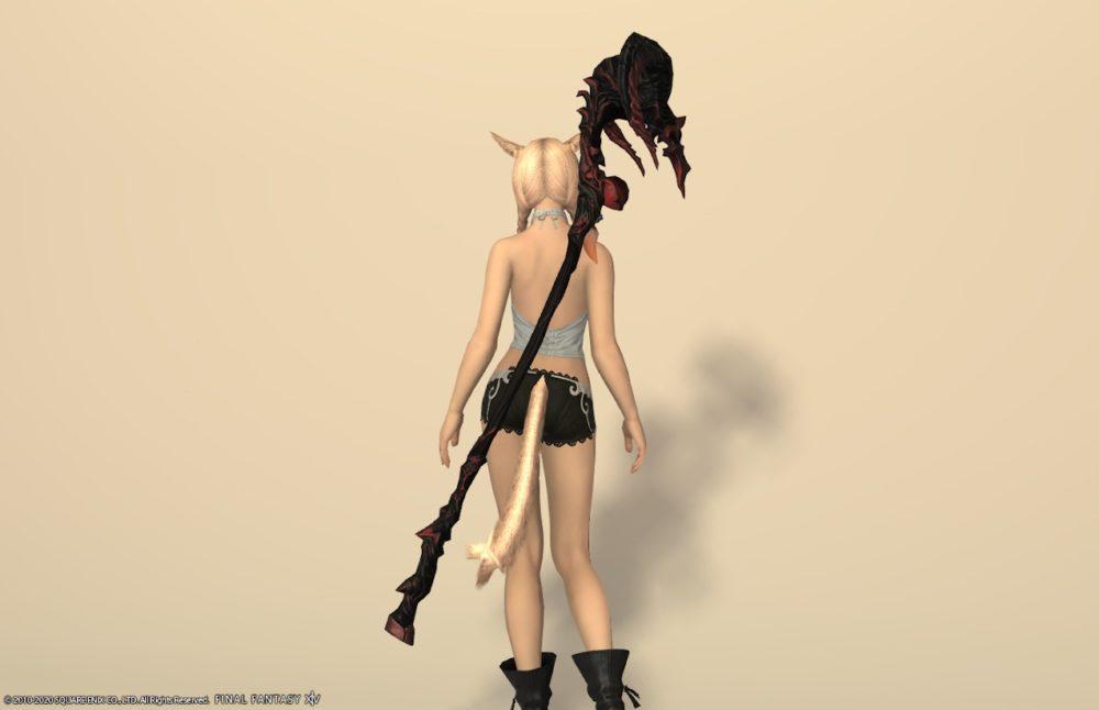 ノマドキャスター黒魔道士武器