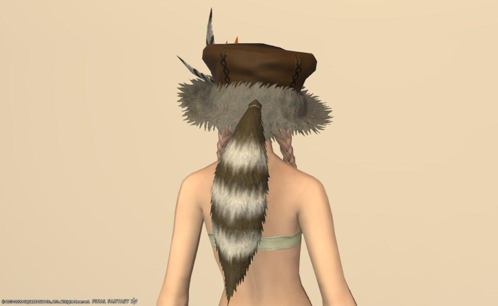ノマドレンジャー頭背面