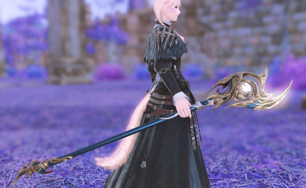 ウォーリアオブライト黒魔道士武器