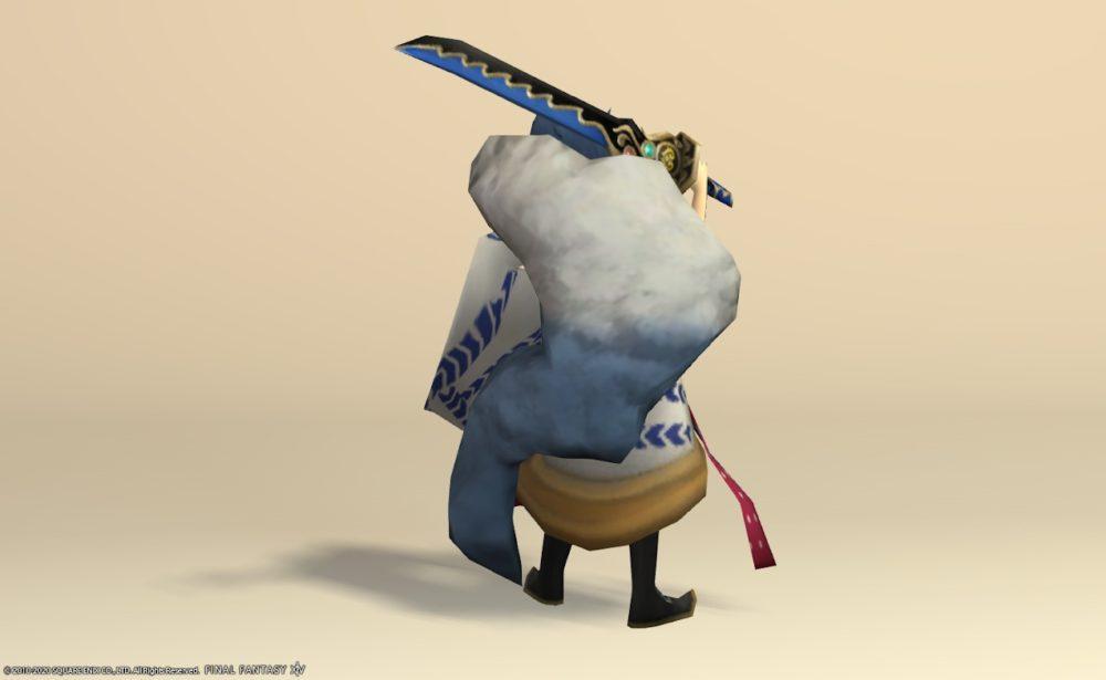 蛇王カイラ背面