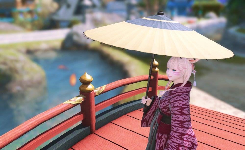 黄漆塗番傘