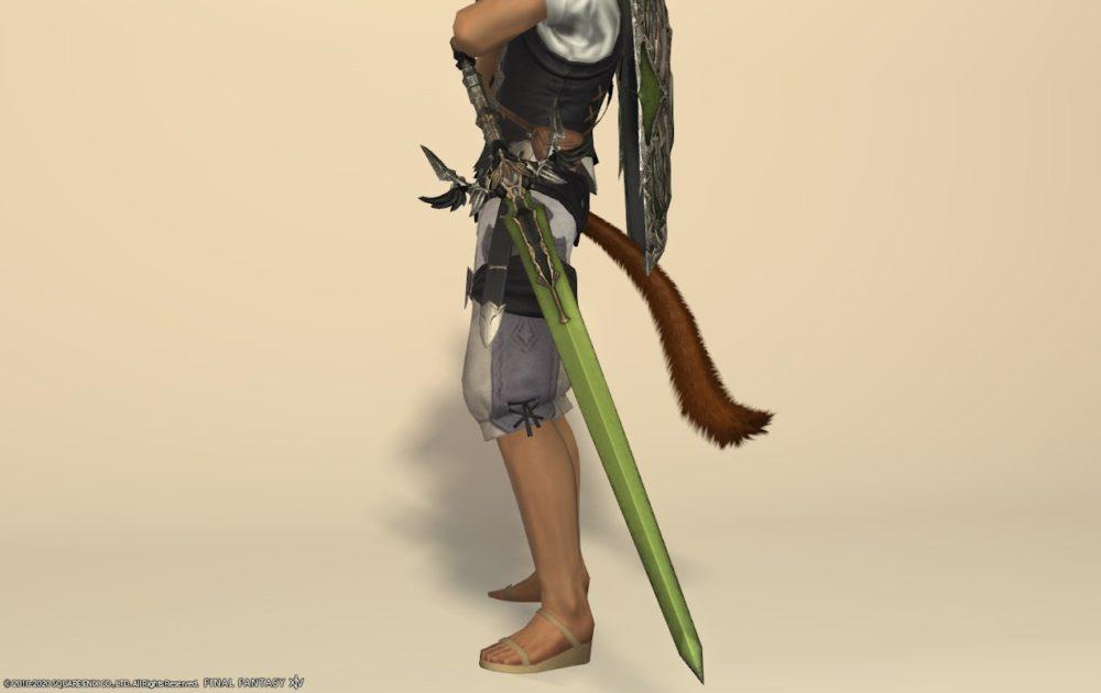 エデンナイト武器アップルグリーン剣