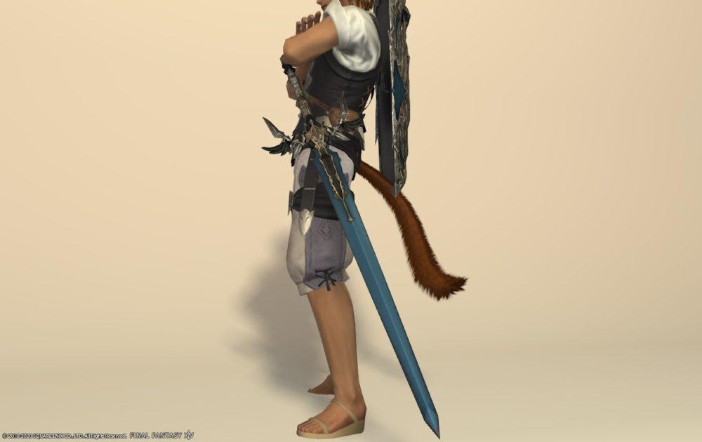 エデンナイト武器ラプトルブルー剣