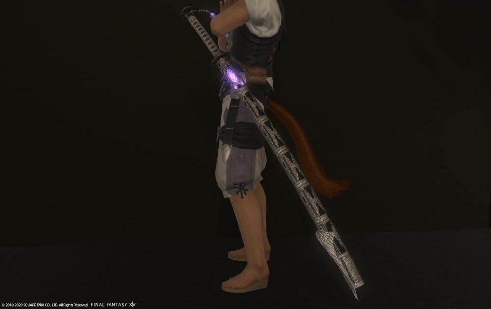 エデン侍武器ライトダウン納刀