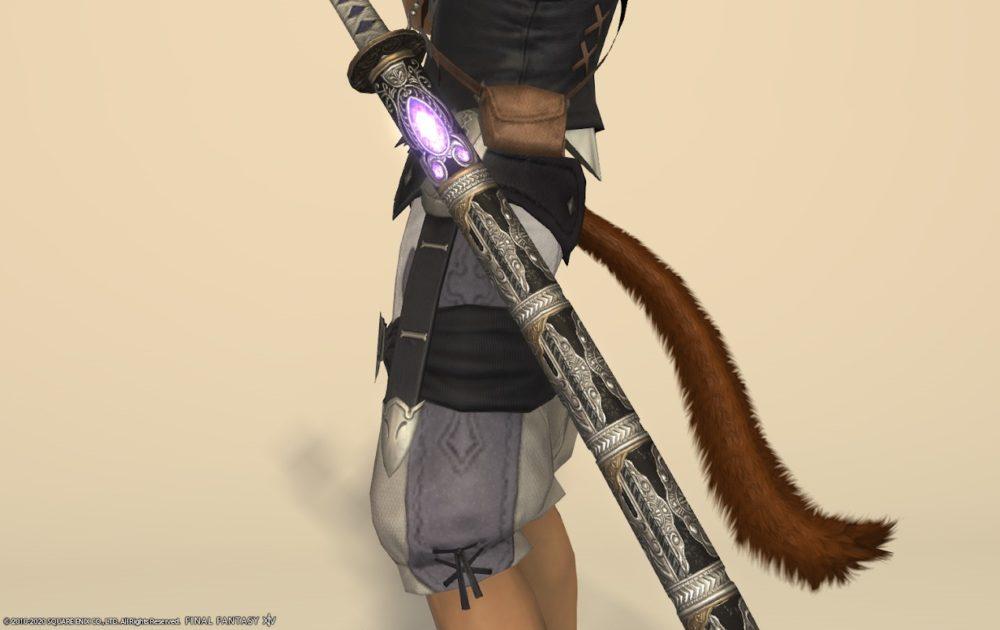 エデン侍武器納刀中部