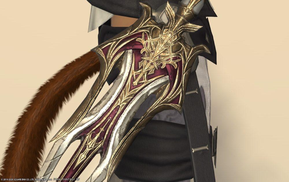 エデン忍者武器ロランベリーレッドアップ