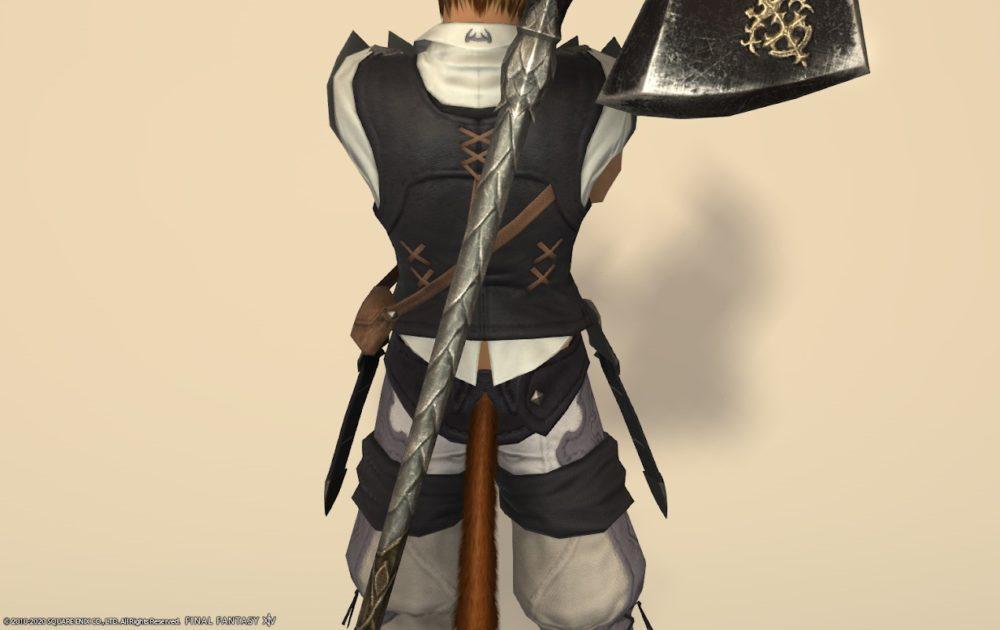 エデン戦士武器納刀中部
