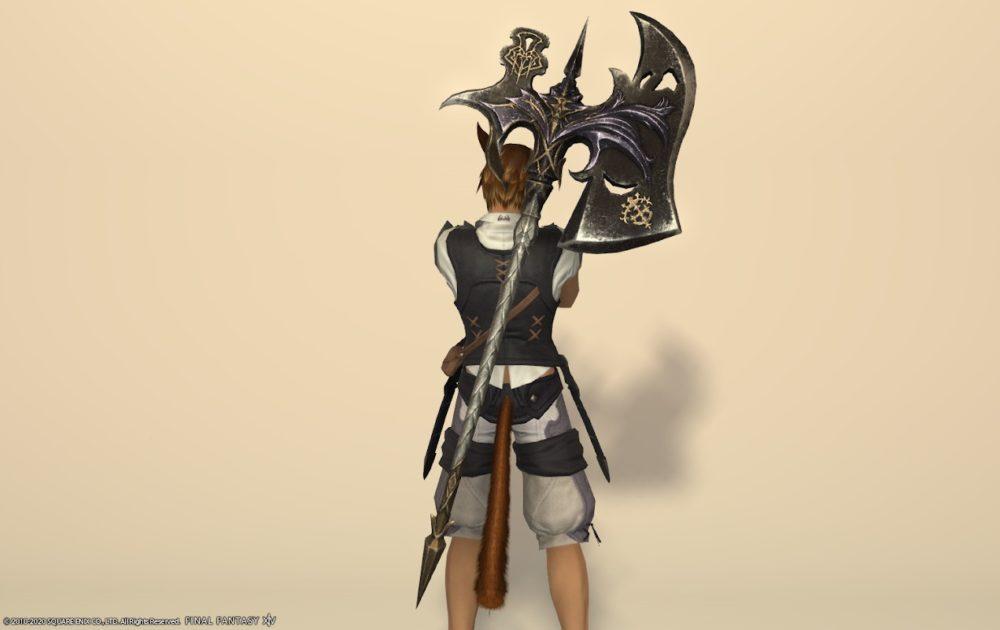エデン戦士武器納刀