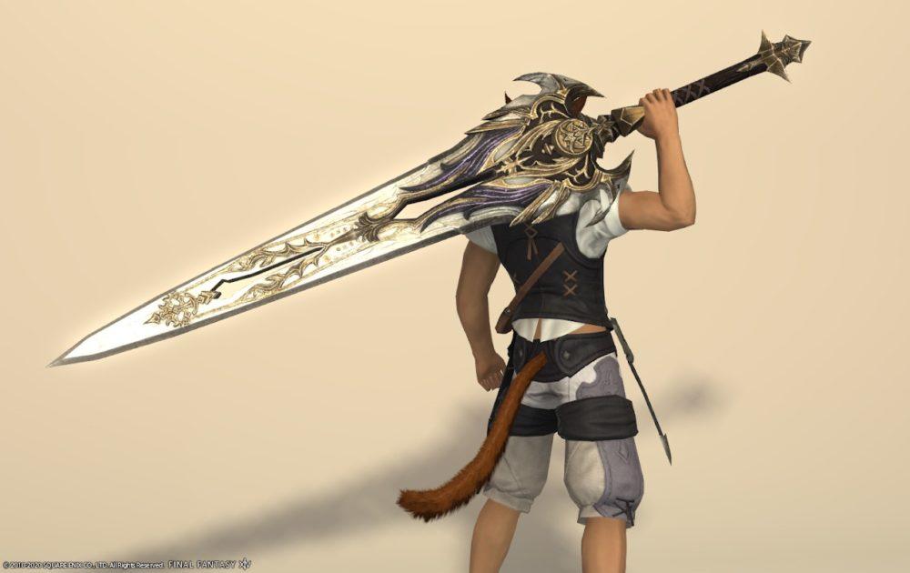 エデン暗黒武器抜刀