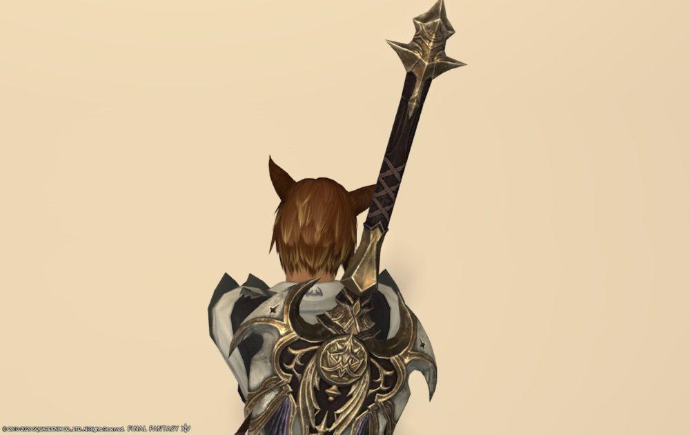 エデン暗黒武器納刀上部