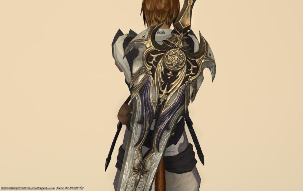エデン暗黒武器納刀中部