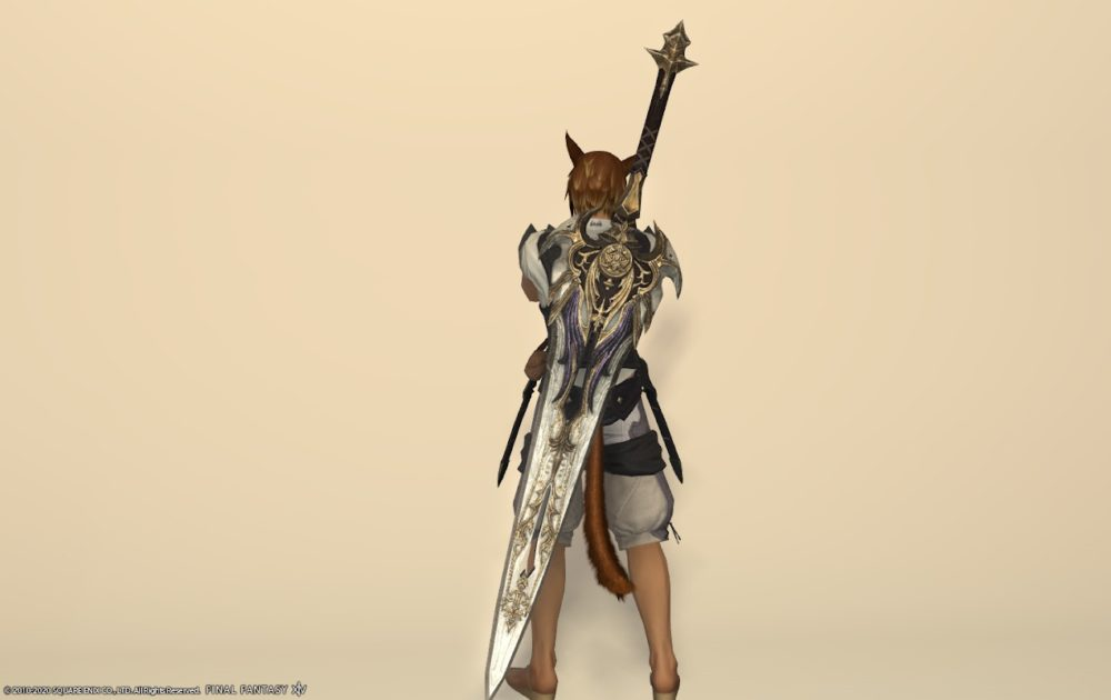 エデン暗黒武器納刀