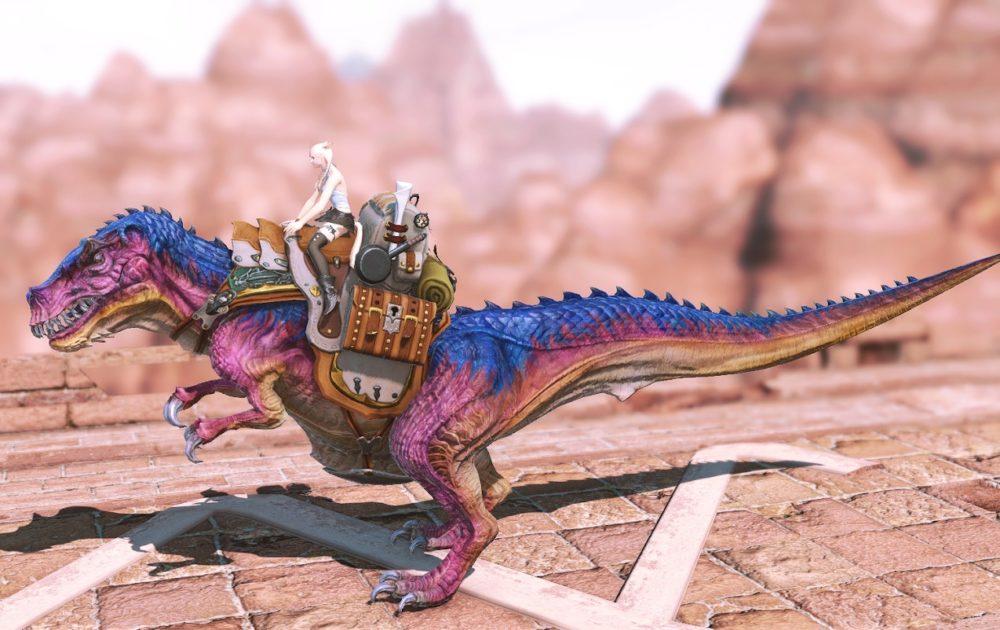ティラノサウルスマウント逆サイド