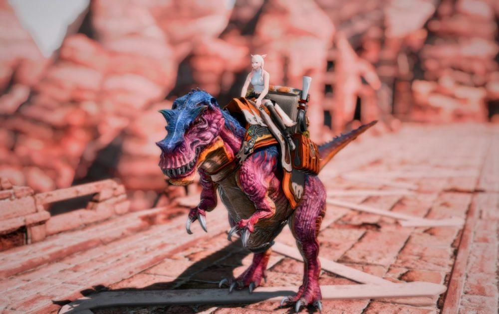 ティラノサウルスマウント